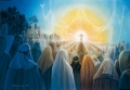 Bergpredigt - Postkarte