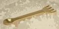 Löffel zum Räuchern - golden