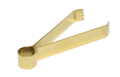 Zange zum Räuchern - golden