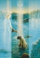 Christus Taufe - Postkarte