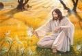 Christus und das Elfenreich - Postkarte