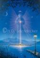Engel über der Fraueninsel - Postkarte