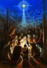 Das Wunder der Weihnacht - Postkarte