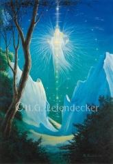 Engel auf Rügen - Postkarte