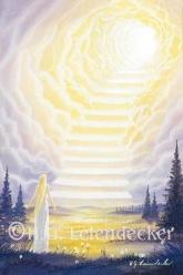 Himmelsstufen - Postkarte