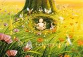 Im Garten Gottes - Postkarte