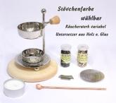 Räucherstövchen - Set 2